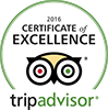 Deising's Bakery & Restaurant Trip Advisor Certificate of Excellence